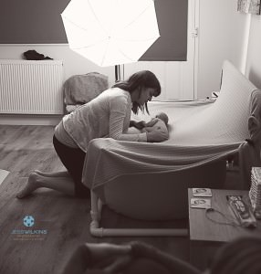 booking a newborn baby photographer