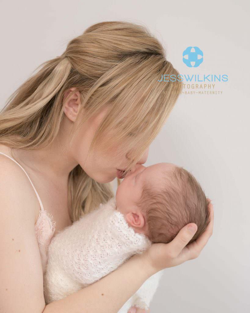 simple newborn baby portraits