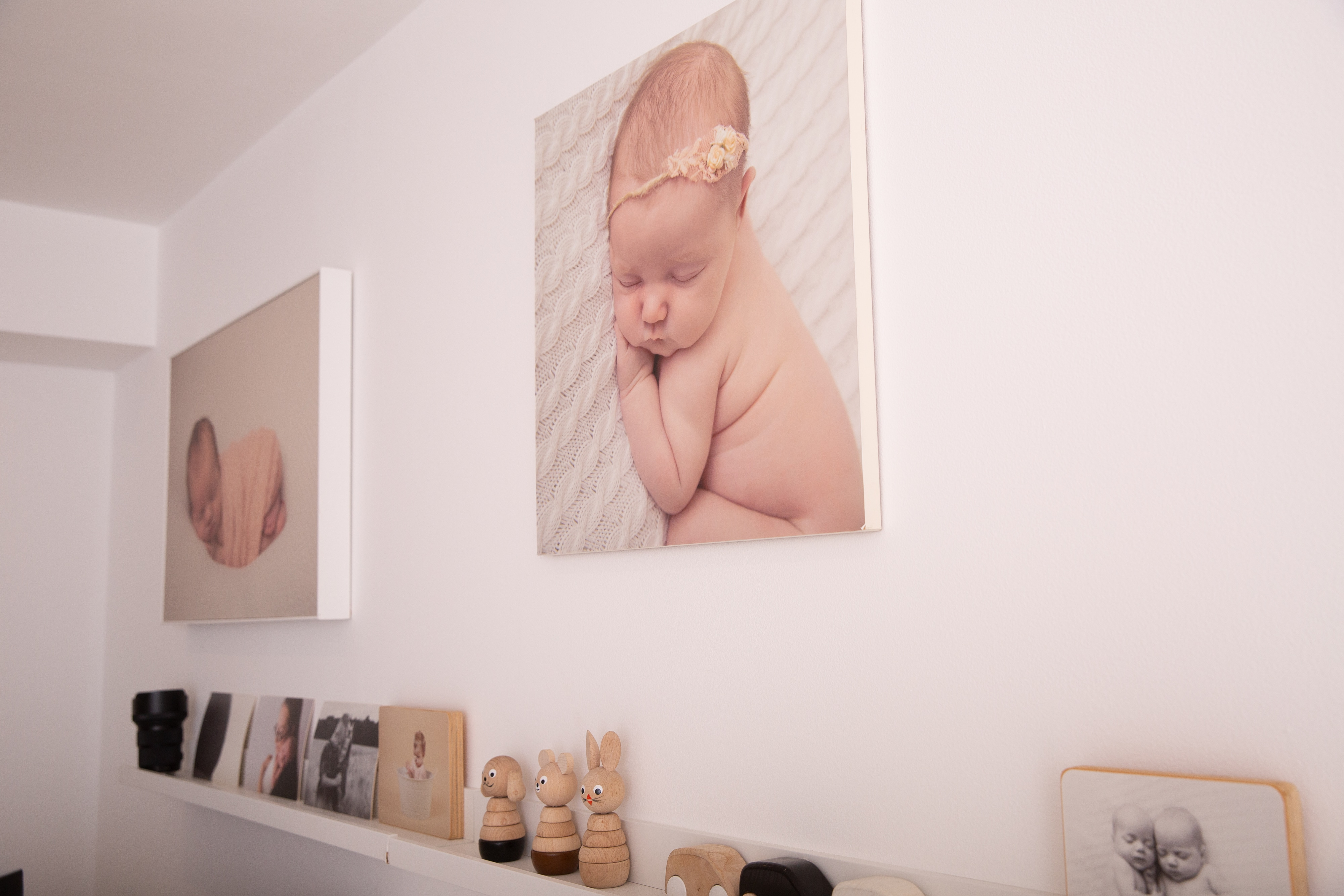 image of canvases and wall art